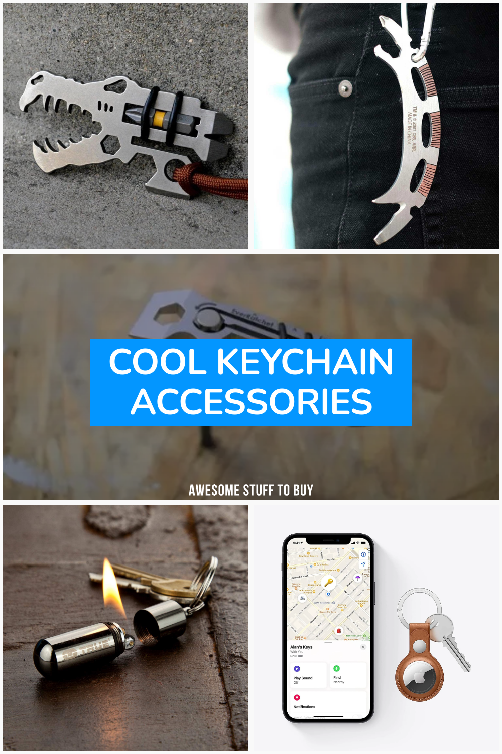 Cool Keychain Accessories // Awesome Stuff to Buy