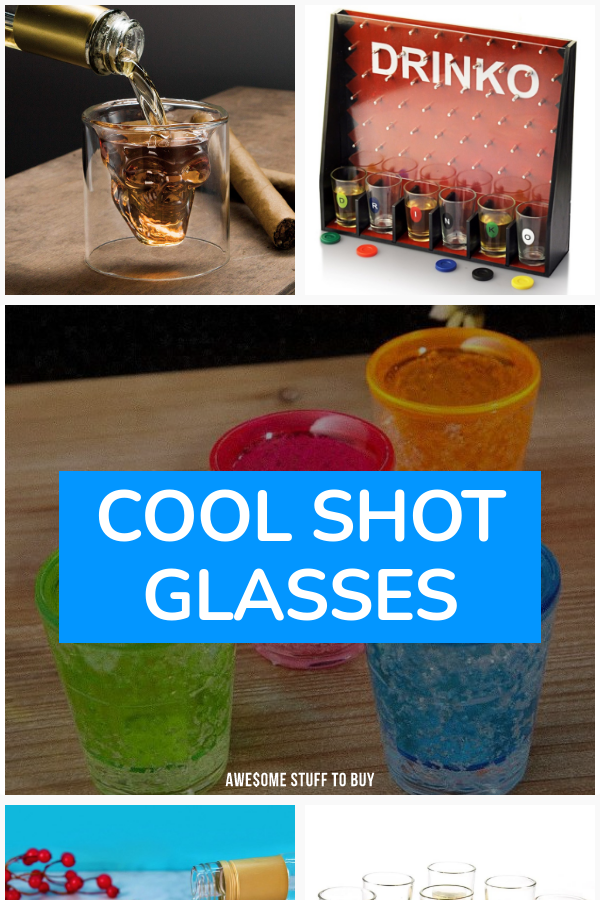 Cool Shot Glasses // Awesome Stuff to Buy