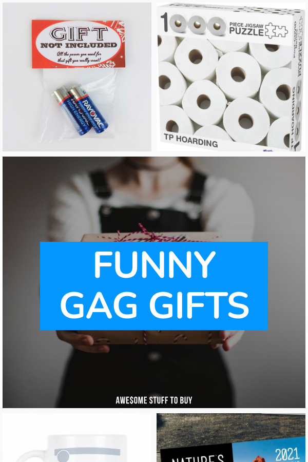 Funny Gag Gifts // Awesome Stuff to Buy