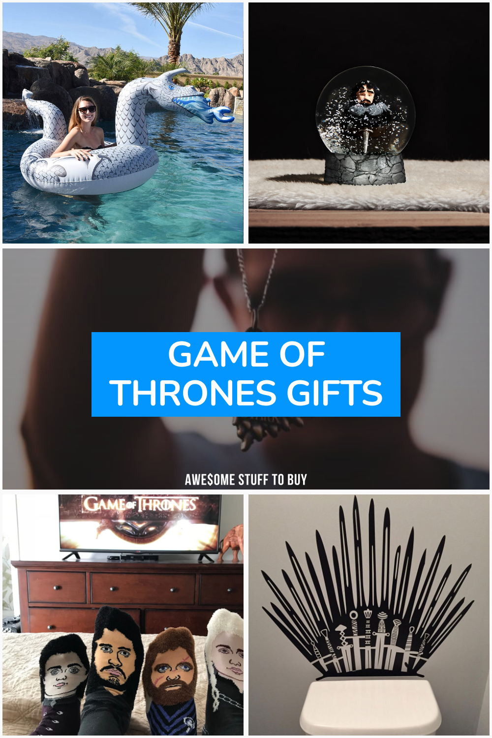 Game of Thrones Gifts // Awesome Stuff to Buy