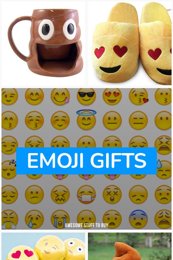 Emoji Gifts // Awesome Stuff to Buy