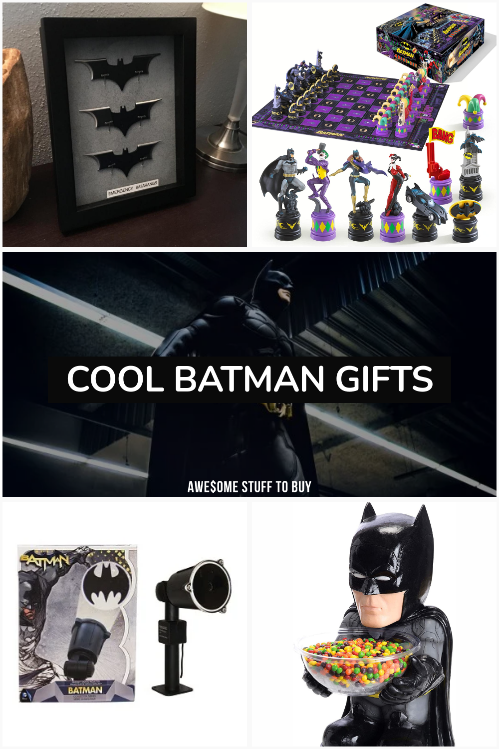 Cool Batman Gifts // Awesome Stuff to Buy