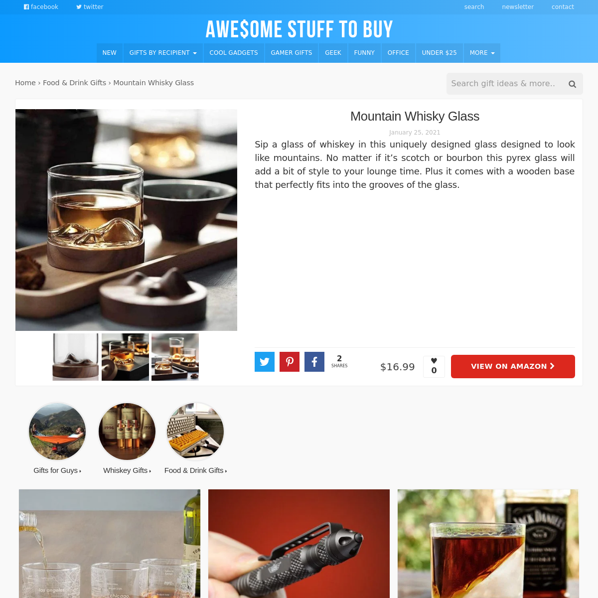 Whisky // Awesome Stuff to Buy