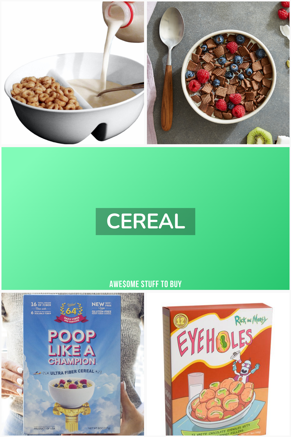 Cereal // Awesome Stuff to Buy