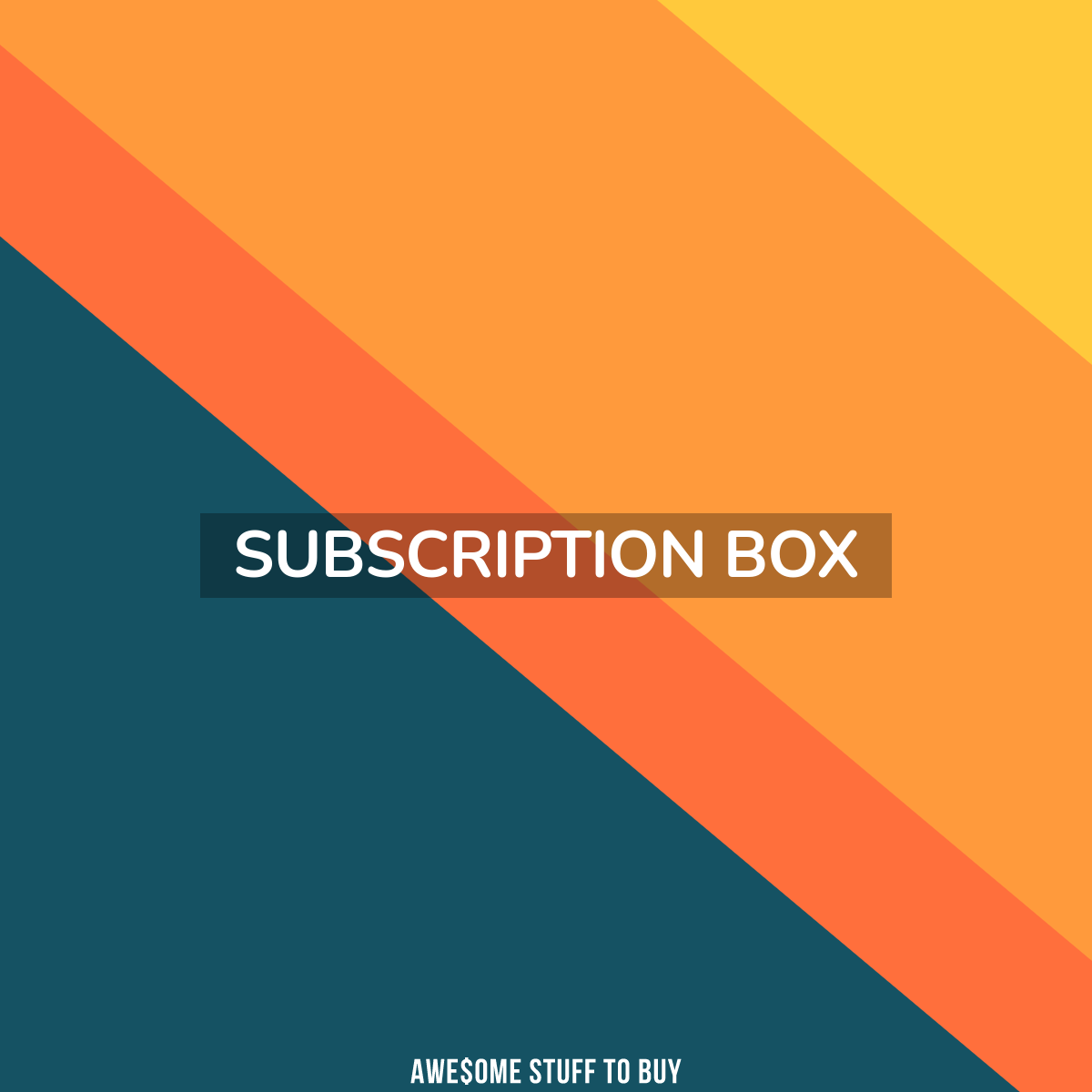 Subscription Box // Awesome Stuff to Buy