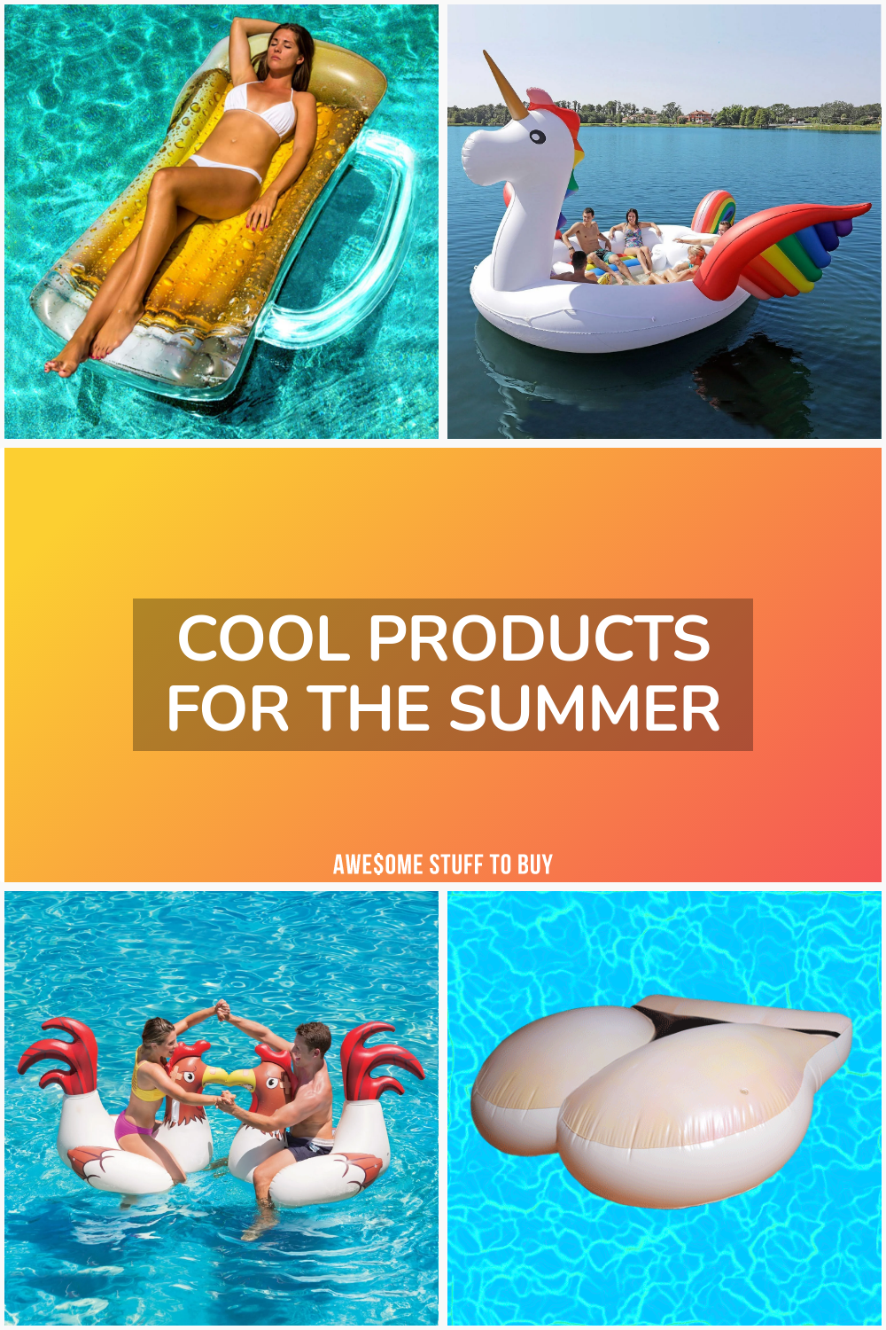 Cool Products for the Summer // Awesome Stuff to Buy