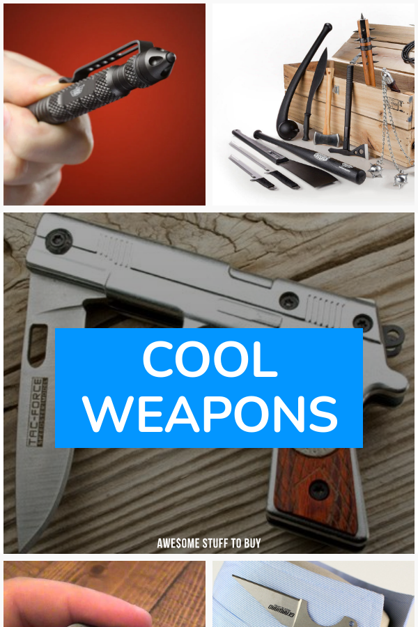 Cool Weapons // Awesome Stuff to Buy