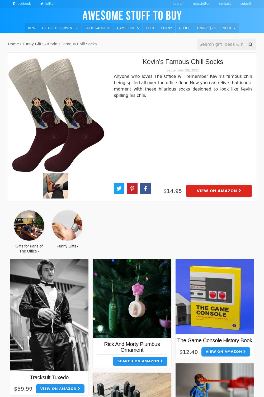 Socks // Awesome Stuff to Buy