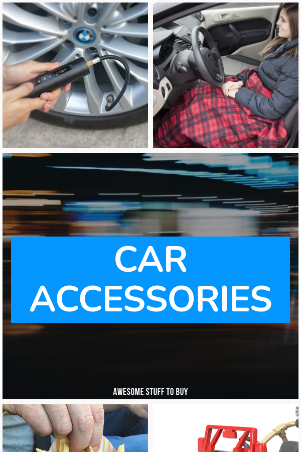 Car Accessories // Awesome Stuff to Buy
