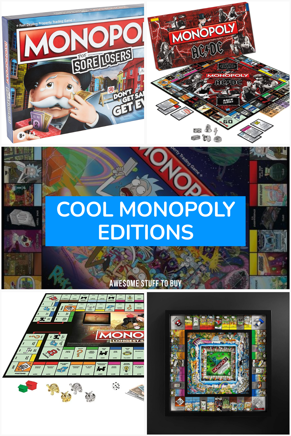 Cool Monopoly Editions // Awesome Stuff to Buy