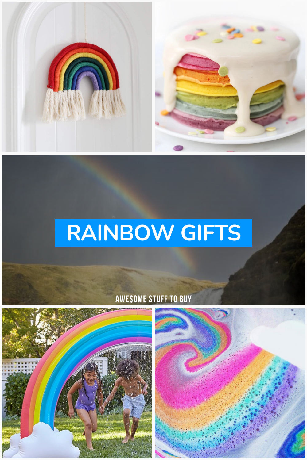 Rainbow Gifts // Awesome Stuff to Buy
