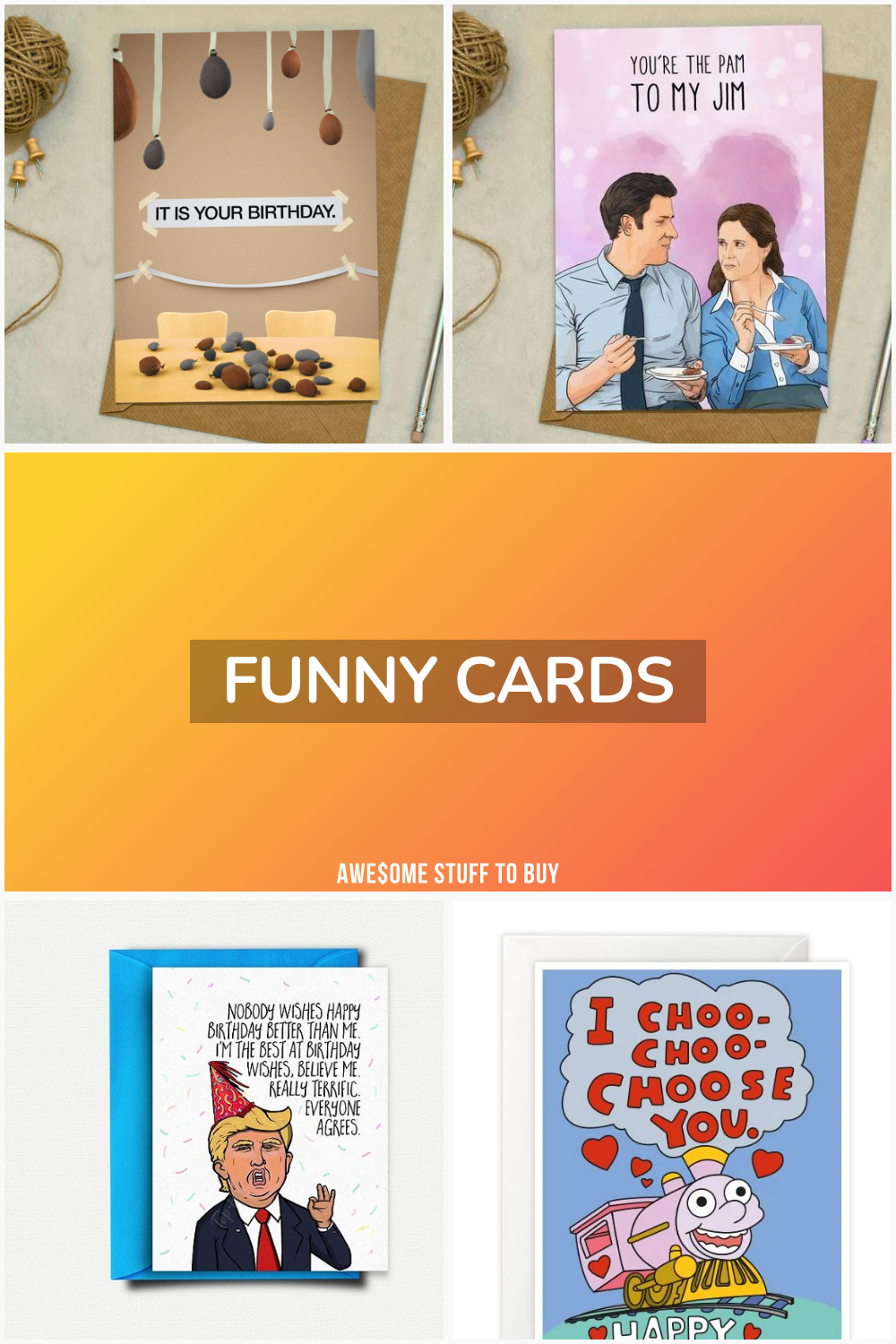Funny Cards // Awesome Stuff to Buy
