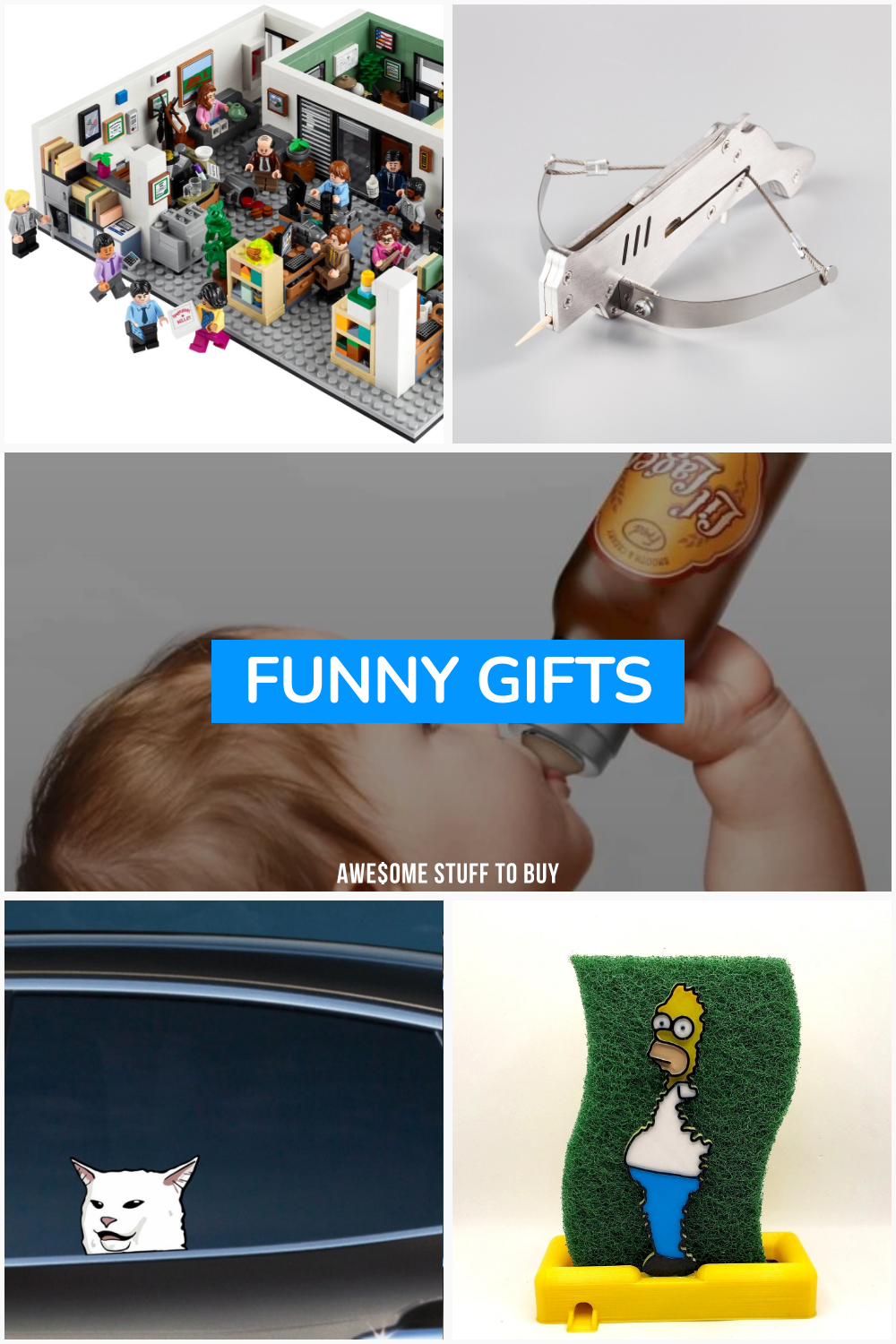 Funny Gifts // Awesome Stuff to Buy