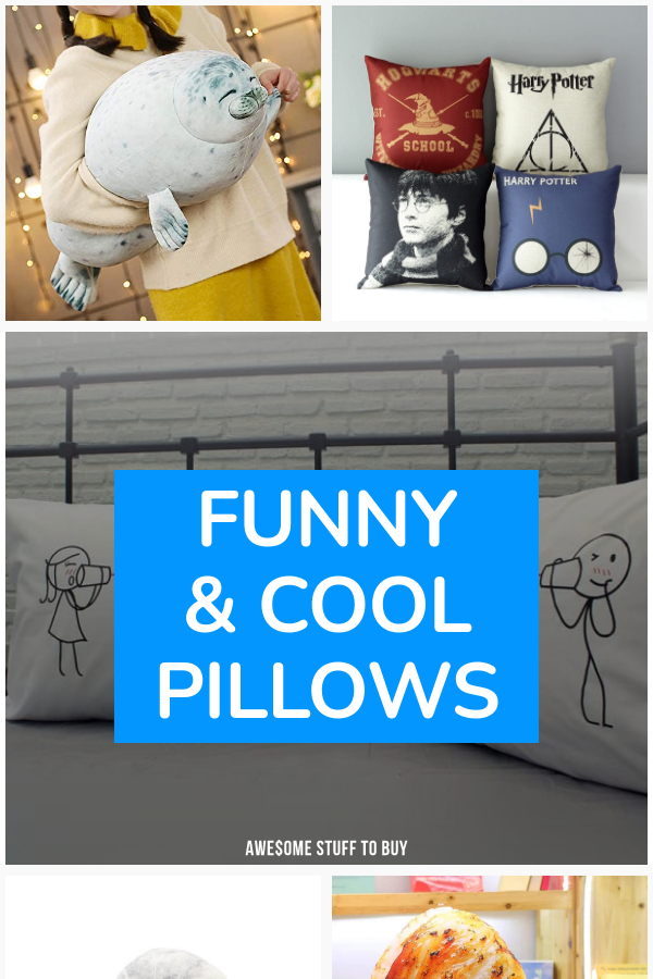 Cool Pillows // Awesome Stuff to Buy