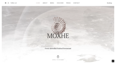 Screenshot of Moxhe