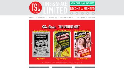 Screenshot of Timeandspace