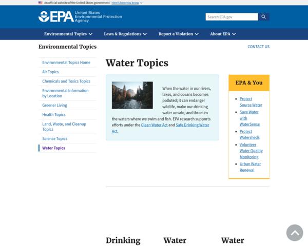 http://water.epa.gov