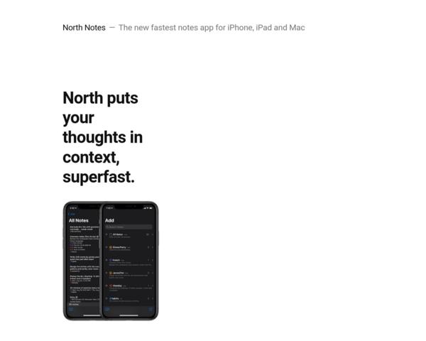 https://northnotes.app/