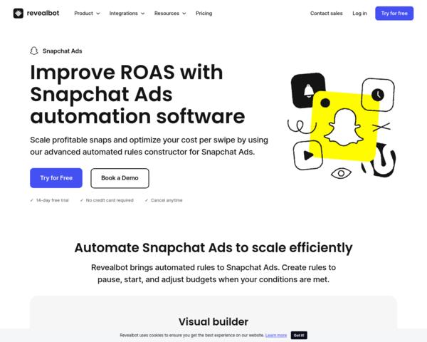 https://revealbot.com/snapchat-ads-automation