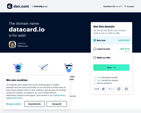 http://datacard.io