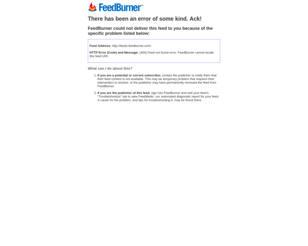 http://feeds.feedburner.com
