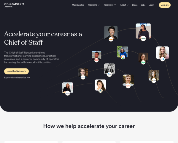 https://chiefofstaff.network/