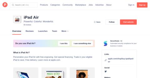The New iPad Air