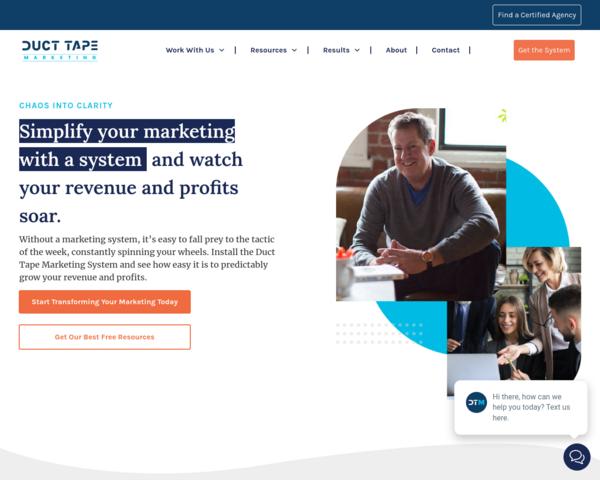 http://www.ducttapemarketing.com