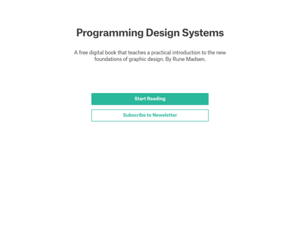 https://programmingdesignsystems.com/