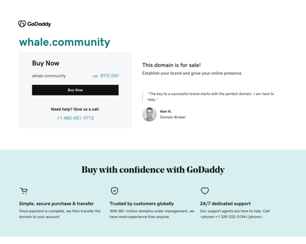 http://www.whale.community