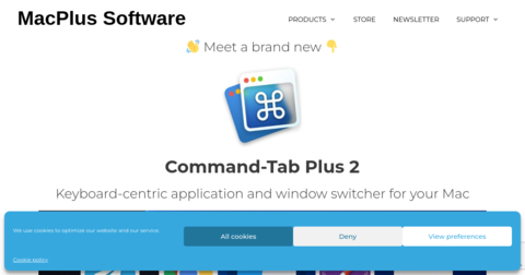 Command-Tab Plus