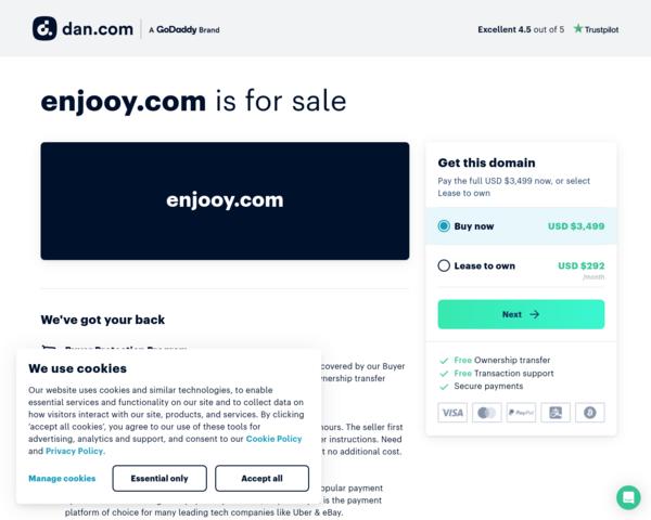 http://www.enjooy.com