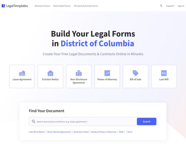 https://legaltemplates.net