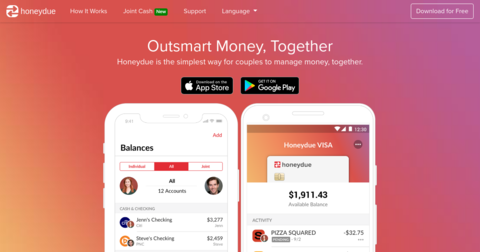 Honeydue - Couples Finance App