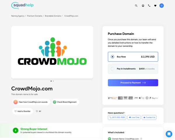 https://crowdmojo.com
