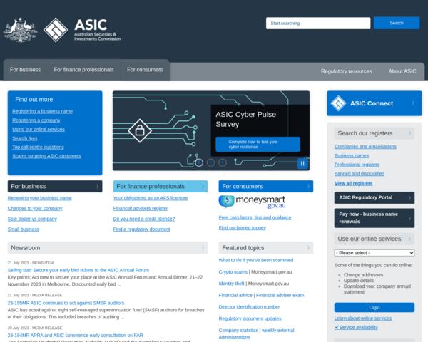 http://www.asic.gov.au