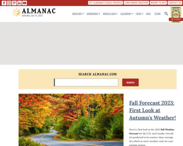 http://www.almanac.com