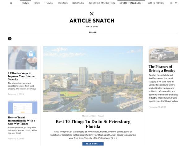 http://www.articlesnatch.com