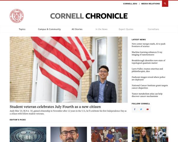 http://www.news.cornell.edu