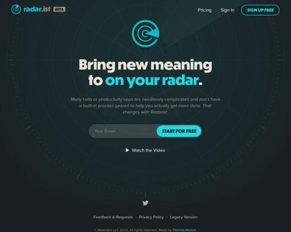 https://radar.ist/