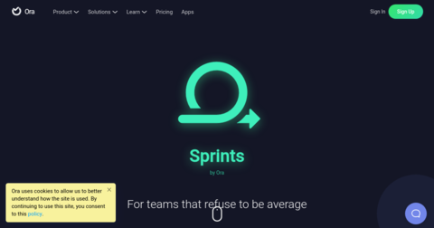 Sprints by Ora