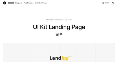 Landing UI Kit