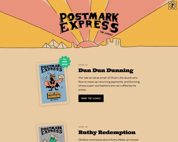 https://postmarkapp.com/postmark-express