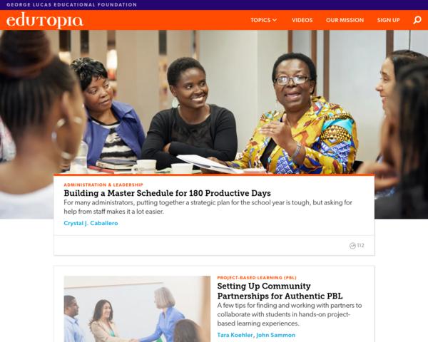http://www.edutopia.org