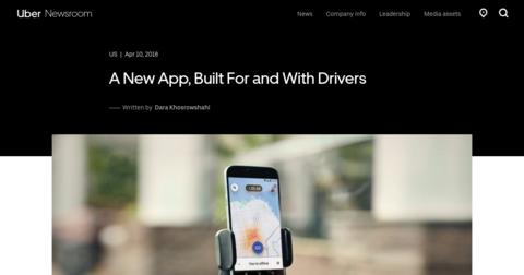 Uber's Driver App