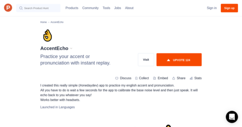 AccentEcho