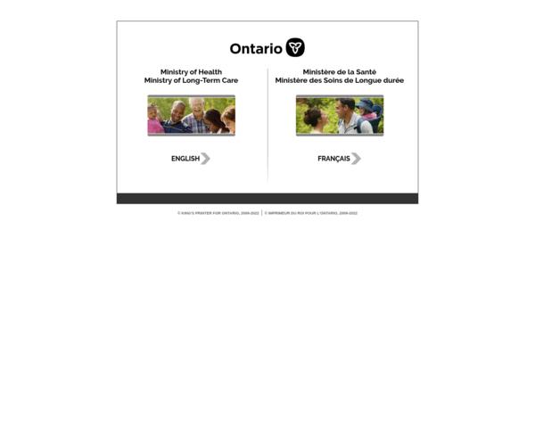 http://www.health.gov.on.ca