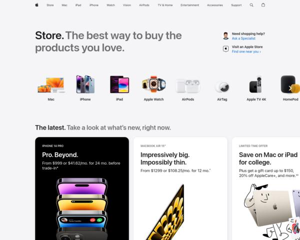 http://store.apple.com