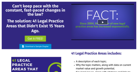41 Legal Practice Areas That Didn't Exist 15 Years Ago