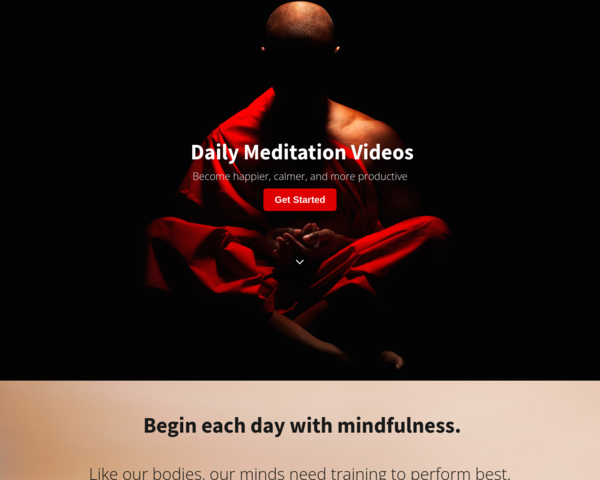 http://www.dailymeditation.co